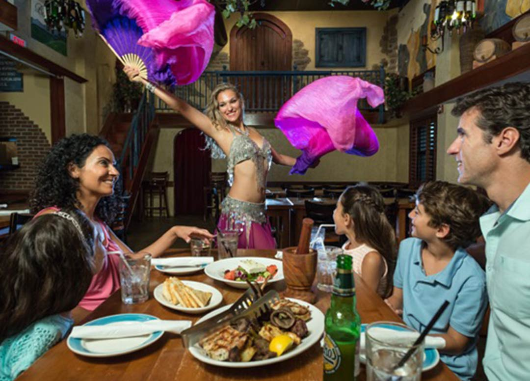 Christmas Eve Dinner | Taverna Opa Orlando