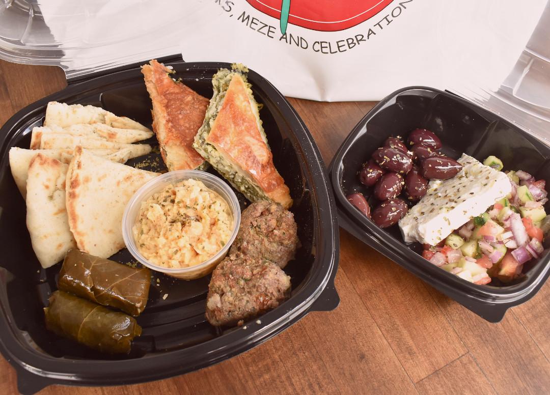 Lunch Catering Orlando Meze Box   Taverna Opa